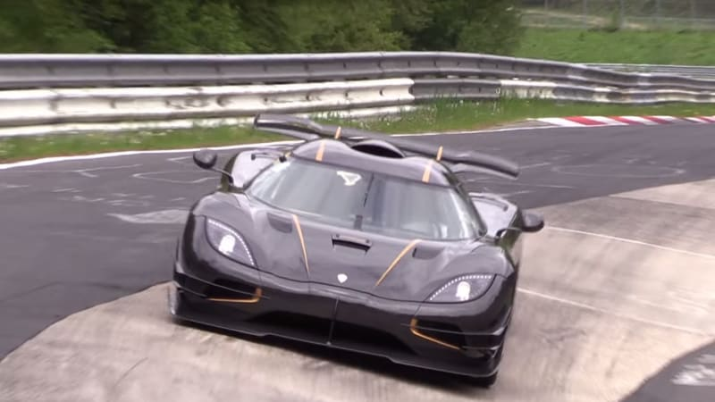 Koenigsegg Goes After A N 252 Rburgring Lap Record Autoblog