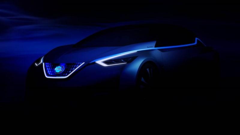 Nissan teases Tokyo concept