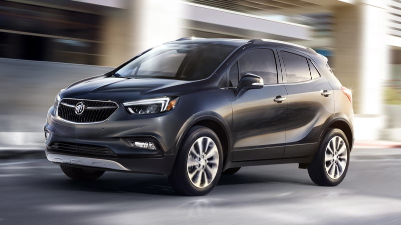 2017 buick encore freshens up for new york debut. Black Bedroom Furniture Sets. Home Design Ideas