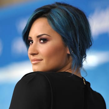 Demi Lovato X Factor Neon Lights performance video