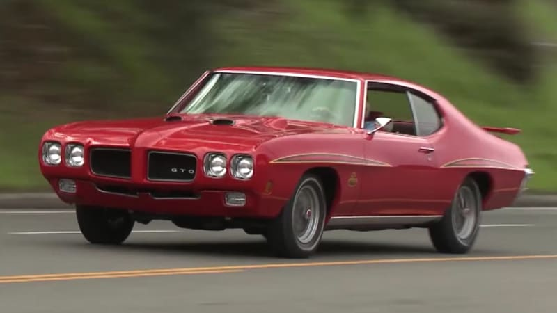 2017 Mazda 3 Forum >> Jay Leno tries out a 1970 Pontiac GTO Judge that looks ...