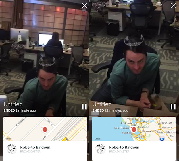 Periscope update keeps viewers from showing up at your house