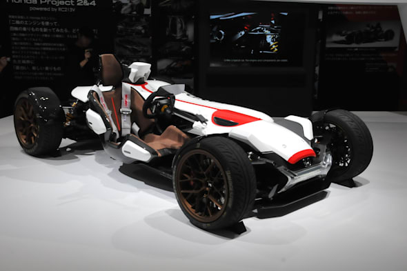 HONDA Rroject2&4 powered by RC213V