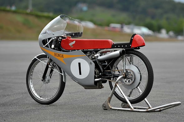 Honda Collection Hall Bike RC116