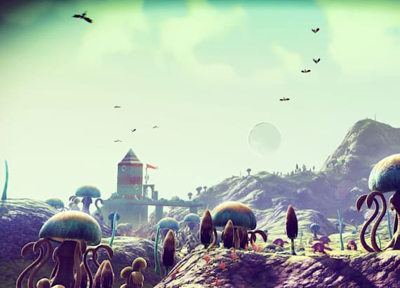 No Man's Sky is making you feel insignificant