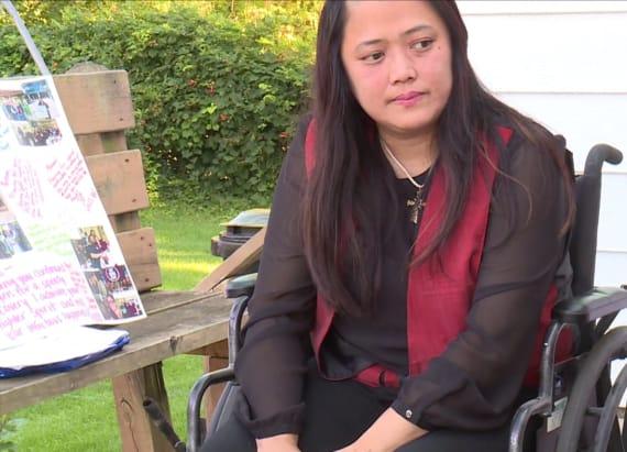 Woman nearly dies after freak Slip 'N Slide accident