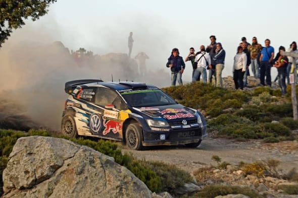 Jari-Matti Latvala (FIN), Miikka Anttila (FIN)Volkswagen Polo R WRC (2015)WRC Rally Italia Sardegna 2015