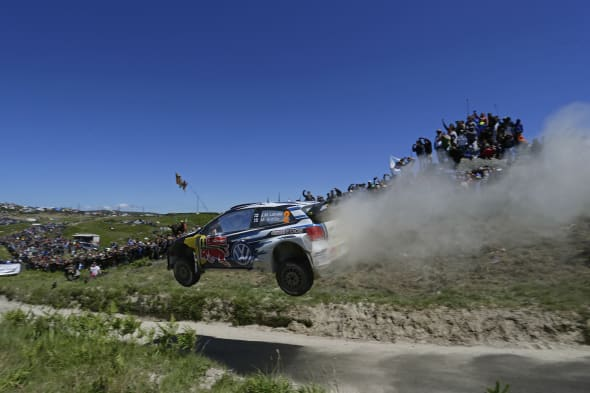 Jari-Matti Latvala (FIN), Miikka Anttila (FIN)Volkswagen Polo R WRC (2015)WRC Rally Portugal 2015