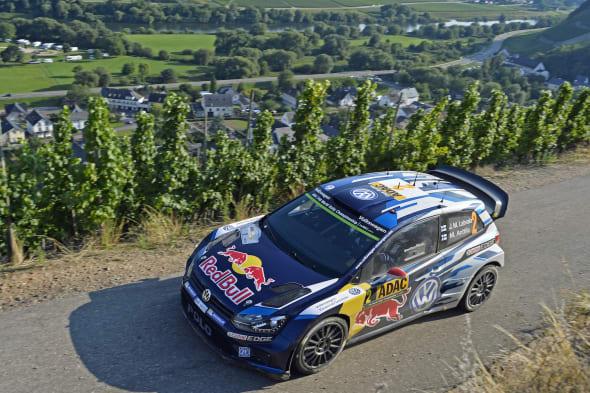Jari-Matti Latvala (FIN), Miikka Anttila (FIN)Volkswagen Polo R WRC (2015)WRC Rally Germany 2015