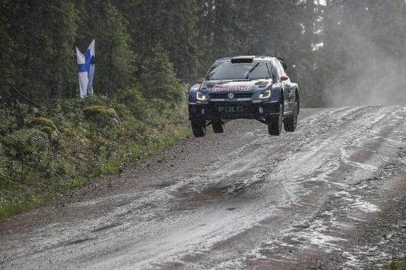 Jari-Matti Latvala (FIN), Miikka Anttila (FIN)Volkswagen Polo R WRC (2015)WRC Rally Finland 2015