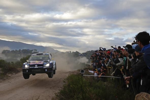 Andreas Mikkelsen (NOR), Ola Fløene (NOR)Volkswagen Polo R WRC (2015)WRC Rally Argentina 2015