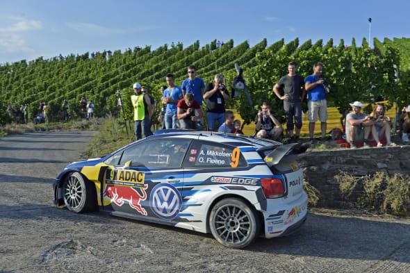 Andreas Mikkelsen (NOR), Ola Fløene (NOR)Volkswagen Polo R WRC (2015)WRC Rally Germany 2015
