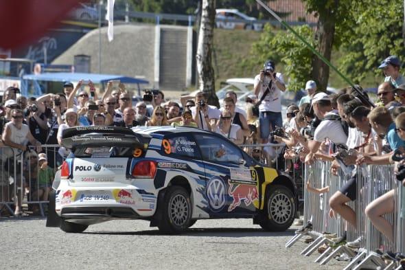 Andreas Mikkelsen (NOR), Ola Floene (NOR)Volkswagen Polo R WRC (2015)WRC Rally Poland 2015