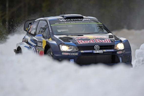 Sébastien Ogier (F), Julien Ingrassia (F)Volkswagen Polo R WRC (2015)Rally Sweden 2015
