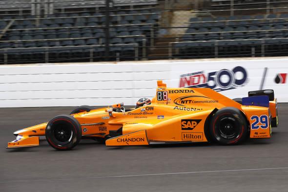 Verizon IndyCar SeriesIndianapolis 500 QualifyingIndianapolis Motor Speedway, Indianapolis, IN USASaturday 20 May 2017Fernando Alonso, McLaren-Honda-Andretti HondaWorld Copyright: Michael L. LevittLAT Images