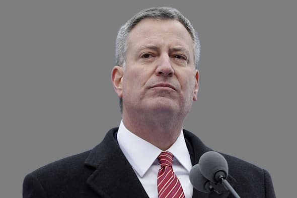 Bill de Blasio, NY City Mayo