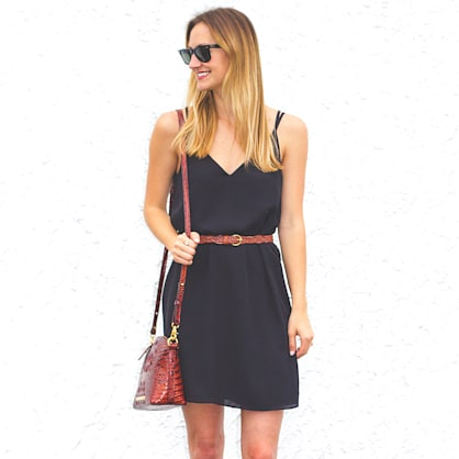 Street style tip of the day: The ultimate LBD