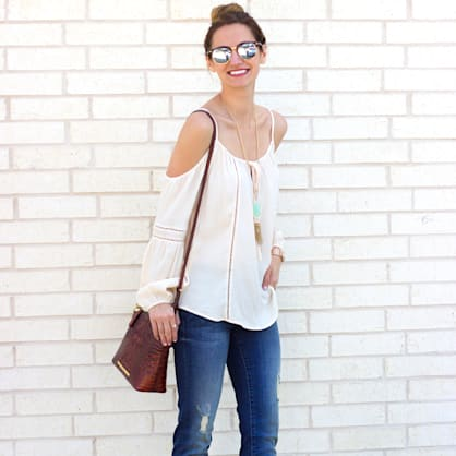Street style tip of the day: Peasant chic