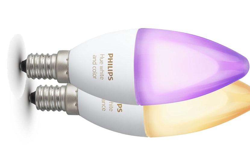 Philips Hue im April auch für E14-Kerzenlampen