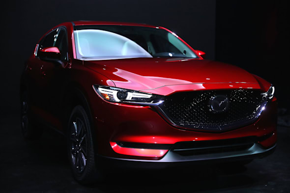 LOS ANGELES, CA - NOVEMBER 15:  The new Mazda CX-5 is seen at the Mazda design event on November 15, 2016 in Los Angeles, California.  (Photo by Victor Decolongon/Getty Images for Mazda Motor Co.)