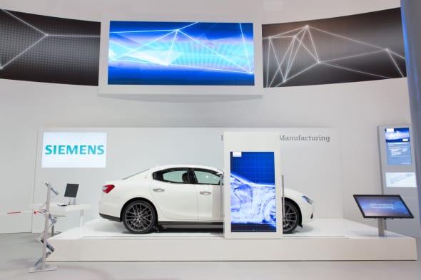 Maserati_Siemens Digitalization Forum_Hannover