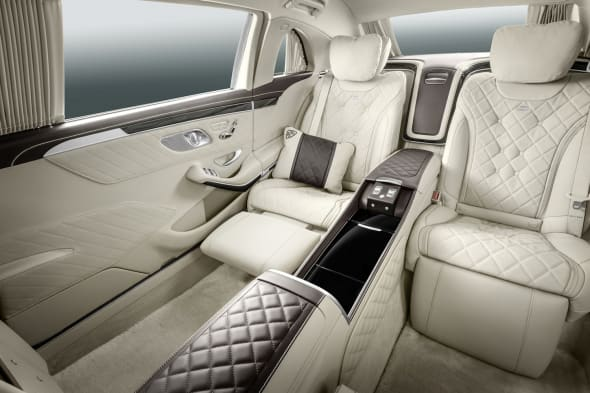 Mercedes-Maybach S 600 Pullman ;Mercedes-Maybach S 600 Pullman;