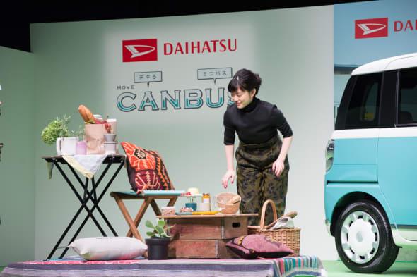 DAIHATSU MOVE CANBUS event