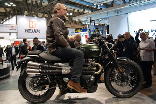2016 EICMA TRIUMPH motorcycles