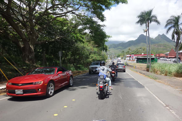 Hawaii touring