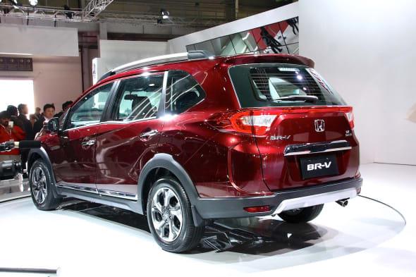 Auto Expo in New Dehli 2016 honda br-v