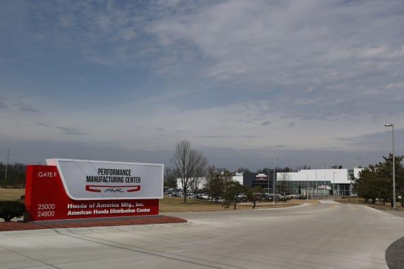 HONDA NSX factory