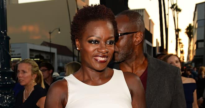 Viola Davis at the Premiere of 'Prisoners' on September 12, 2013