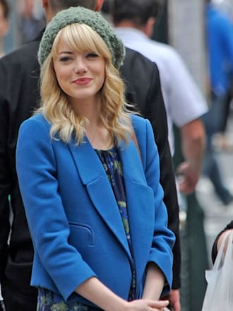 Emma Stone Sighting In New York City - May 28, 2013