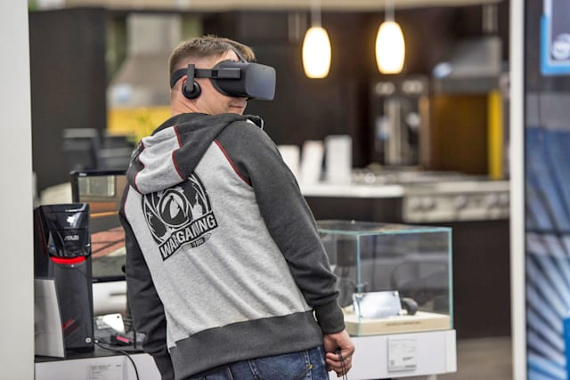 Facebooks VR-Teststationen sind ein großer Flop