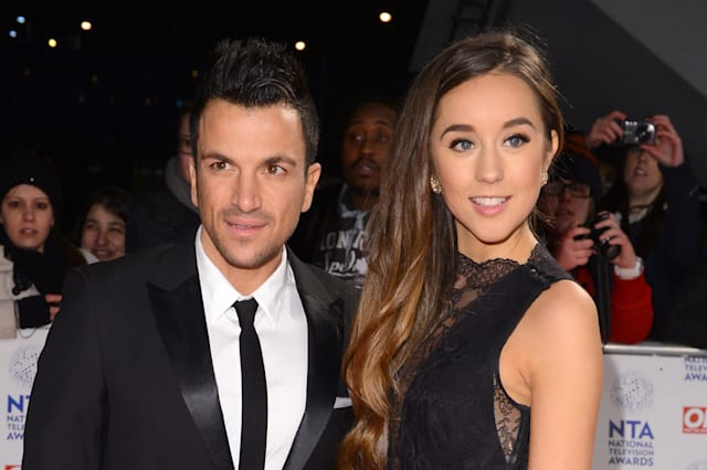 new parents Peter Andre and Emily MacDonagh