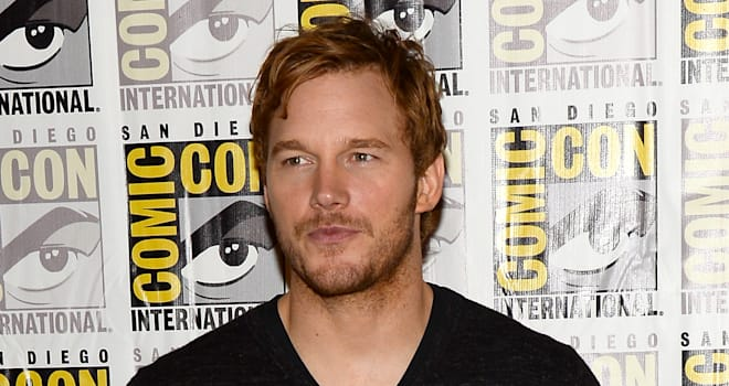 Chris Pratt at San Diego Comic-Con 2013