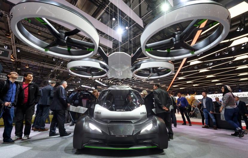 So stellt sich Airbus ein autonomes, fliegende Auto vor