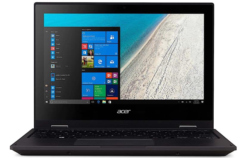 Der Travelmate Spin B1 ist Acers erster Windows-10-Laptop