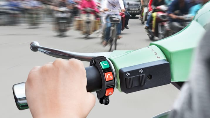 Bosch connected scooter