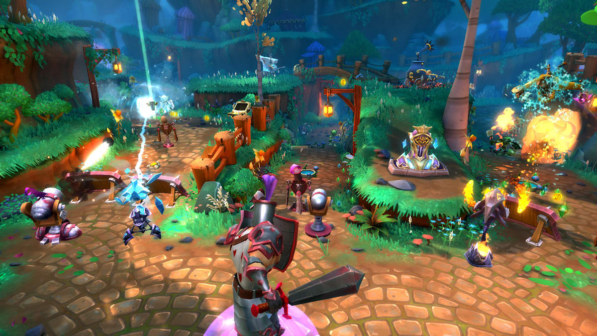 Sony rolls out 'Dungeon Defenders 2' as a paid alpha on PS4