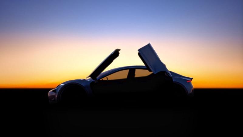 Henrik Fisker previews secretive car with gorgeous butterfly doors