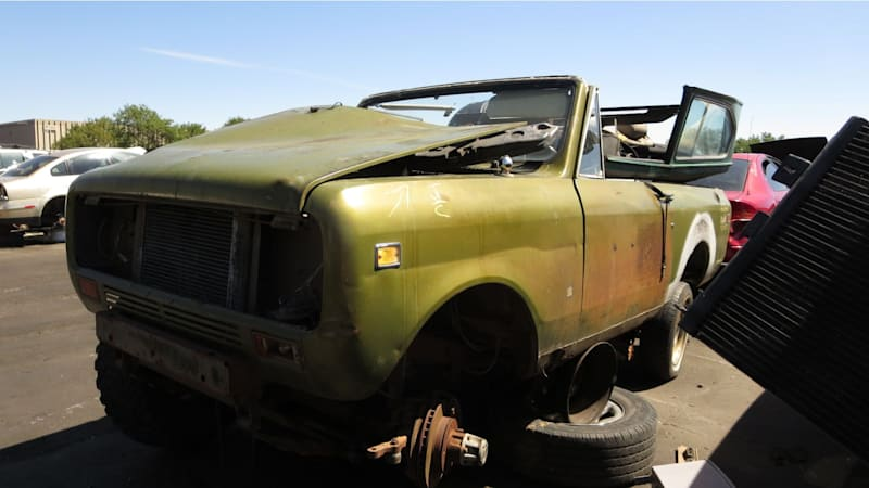Junkyard Gem: 1974 International Harvester Scout II