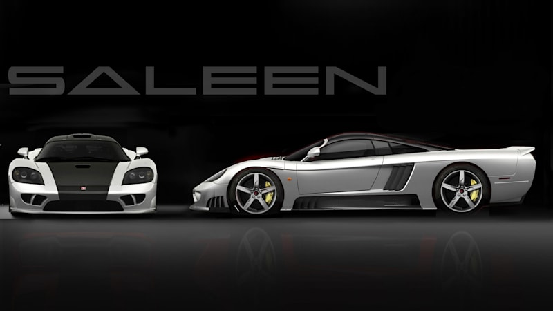 The Saleen S7 Lives Now With 1 000 Horsepower Autoblog