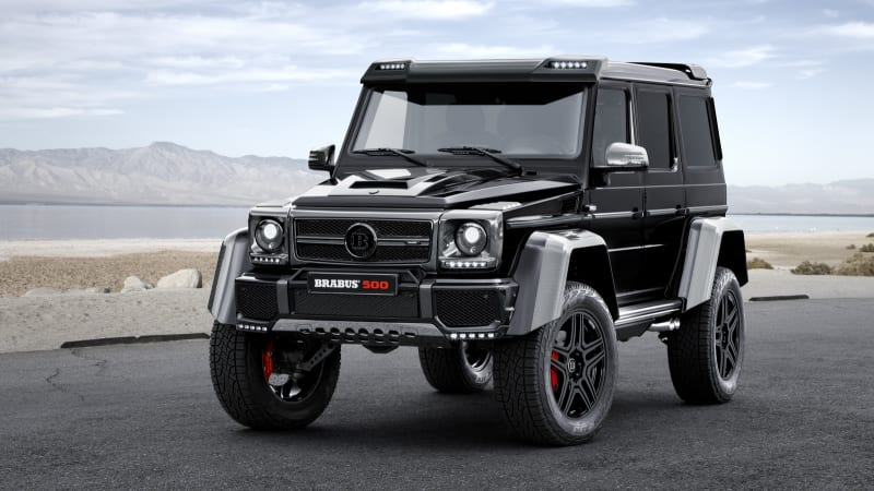 brabus tuned mercedes g500 4x4 is an over powered off. Black Bedroom Furniture Sets. Home Design Ideas