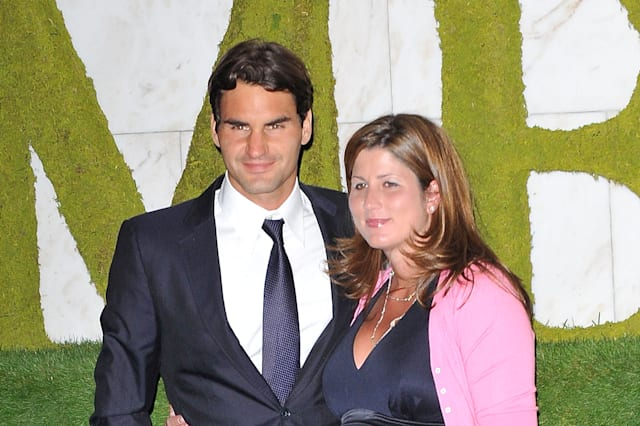 Roger Federer and wife Minka expecting twins