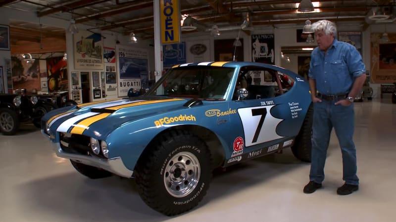 Compare Car Insurance Quotes >> Jay Leno hoons James Garner's '72 Oldsmobile Banshee ...