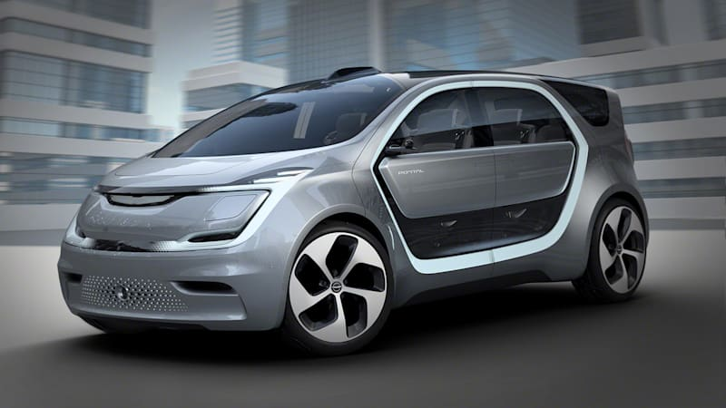 Chrysler Portal Concept introduces millennials to their automotive future at CES