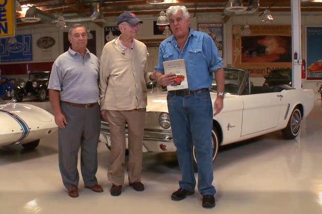 Jay Leno Lee Iacocca Ford Mustang