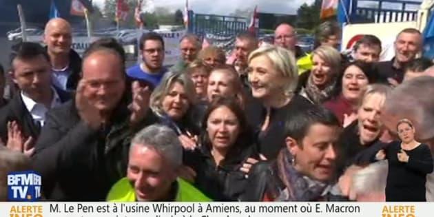Whirlpool : le FN nie avoir distribué des sifflets aux grévistes contre Macron