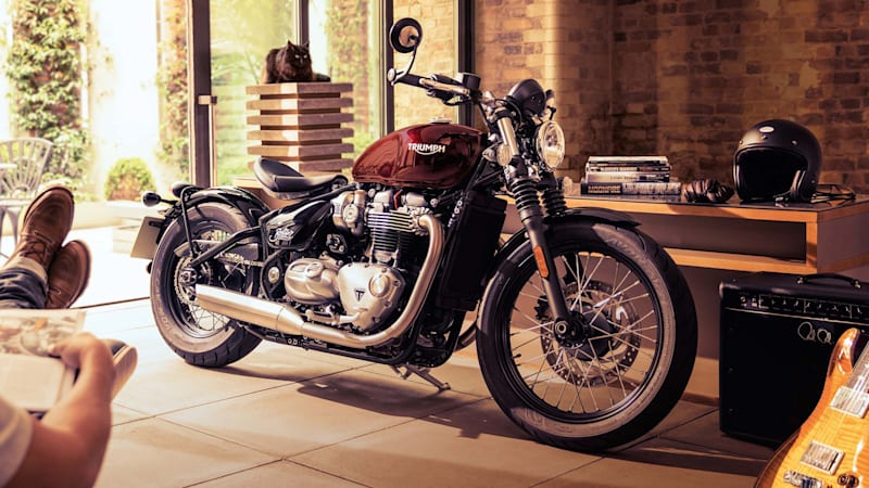 Triumph's new Bonneville Bobber is a factory custom with hardtail looks
